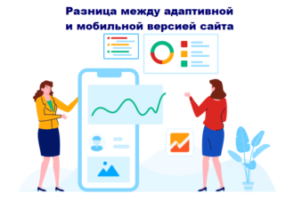 Разница между адаптивной и мобильной версией сайта